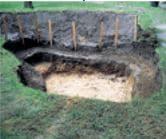 Poser le bassin en pvc dans son emplacement