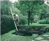 remblaiement du pourtour du bassin de jardin préformé