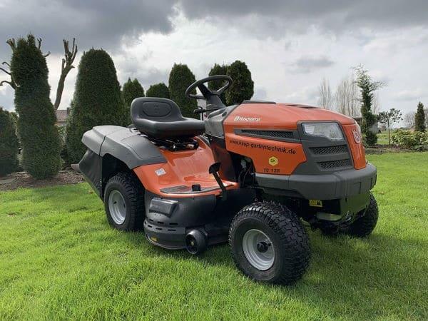 Tracteur tondeuse Husqvarna-TC138-avis